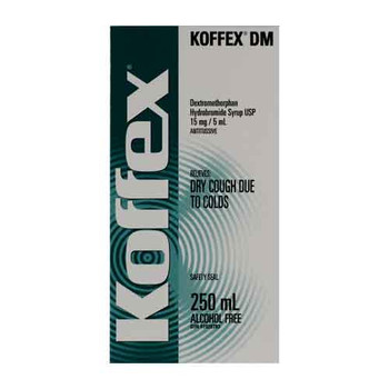 Koffex Dry Cough Relief Syrup | 250 ml