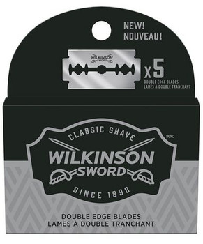 Wilkinson Double Edge Blades   5 Replacement Blades.