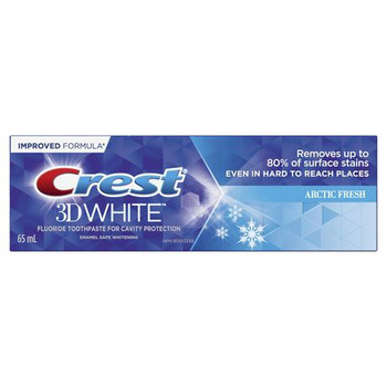 Crest 3D White Fluoride Toothpaste for Cavity Protection - Arctic Fresh | 35 ml