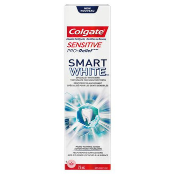 Colgate Sensitive Pro-Relief Smart White Fluoride Toothpaste | 75 ml