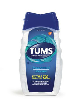 Tums Extra Strength 750 mg Antacid Tablets - Peppermint | 150 Count