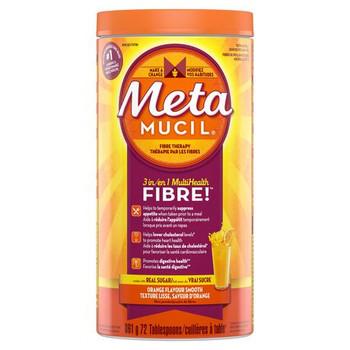 Metamucil 3 in 1 Multi Health Orange Flavour Smooth Fibre Powder | 861 g