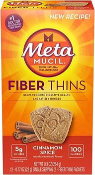 Metamucil Cinnamon Spice Fibre Thins | 264 g