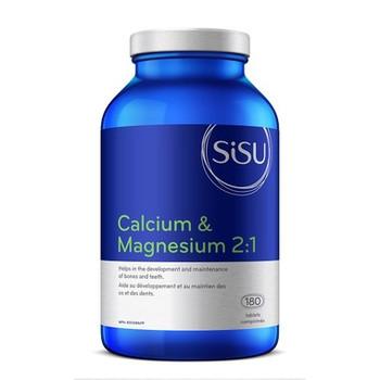Sisu Calcium & Magnesium 2:1 | 180 Tablets