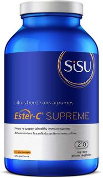 Sisu Ester-C Supreme | 210 Vegetable Capsules
