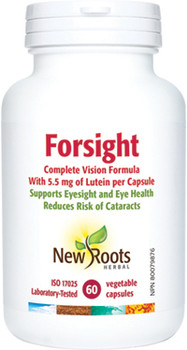 New Roots Forsight with Lutein | 30 Vegetable Capsules