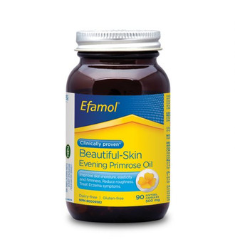 Efamol Beautiful-Skin Evening Primrose Oil | 90 Softgels