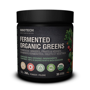 Innotech Fermented Organic Greens Powder - Unflavoured | 250 g