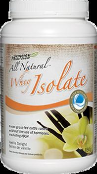 Precision All Natural Whey Isolate Powder - Vanilla Delight   375 g