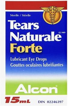 Alcon Tears Naturale Forte Lubricant Eye Drops | 15 ml