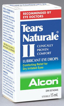 Alcon Tears Naturale II Lubricant Eye Drops | 15 ml