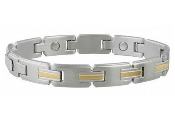 Sabona Magnetic Link Bracelet - 1200 Gauss Magnets | Small/Medium