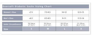 Sigvaris 160 Eversoft Diabetic Socks 8-15 mmHg - White | LARGE