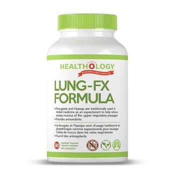 Healthology Lung - FX Formula | 90 Vegetable Capsules