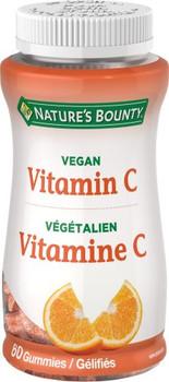 Nature's Bounty - Vegan Vitamin C | 60 Gummies