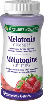 Nature's Bounty - Melatonin Gummies | 60 Gummies