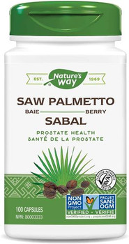 Nature's Way - Saw Palmetto Berry - 100 Capsules