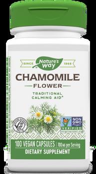 Nature's Way - Chamomile Flowers - 100 Capsules