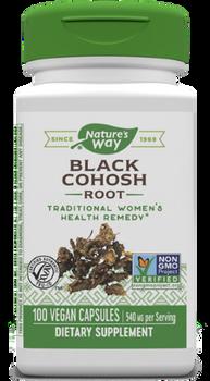 Nature's Way - Black Cohosh Root - 100 Capsules