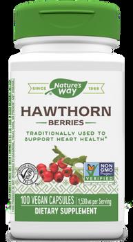 Nature's Way -Hawthorn Berries- 100 Capsules