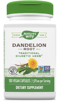 Nature's Way - Dandelion Root - 100 Capsules