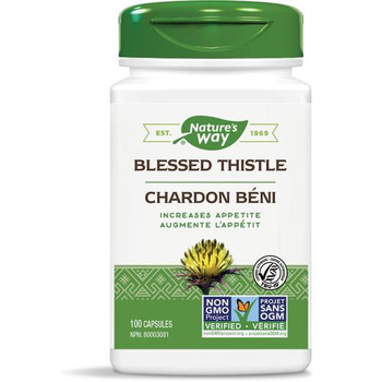Nature's Way - Blessed Thistle - 100 Capsules