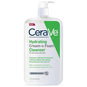 CeraVe Hydrating Cream-To-Foam Cleanser | 562ml