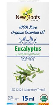 New Roots - Eucalyptus Organic Essential Oil | 15ml