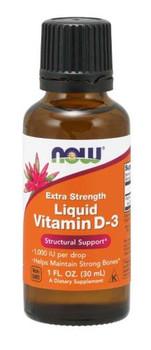 NOW - Vitamin D-3 Extra Strength - 1000 IU/Drop | 30ml