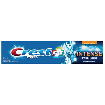 Crest Plus - Intense Freshness + Whitening  | 125 ml