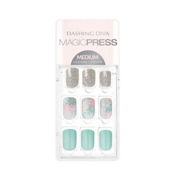 Magic Press  Medium Nails - Stay Palm | 30 Nails
