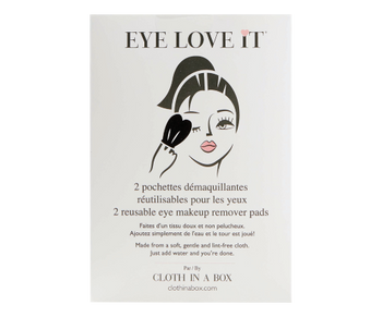 Eye Love It - 2 reusable Eye Makeup Remover Pads