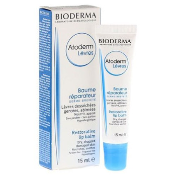 Bioderma - Restorative Lip Balm - Dry, Chapped Damaged Lips | 15ml
