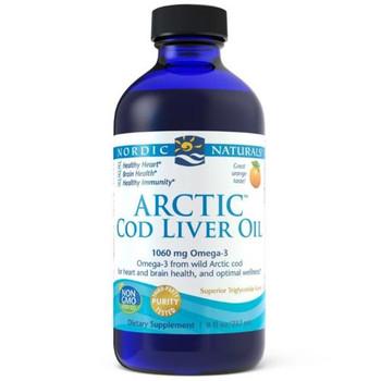 Nordic Naturals - Arctic Cod Liver Oil - 1050mg Omega-3  | 237ml