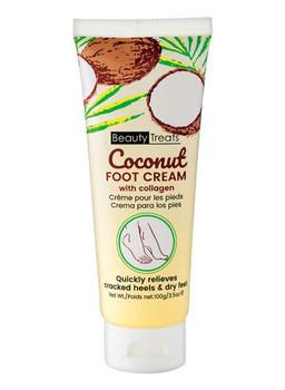 Beauty Treats - Coconut Foot Cream With Collagen | 100g