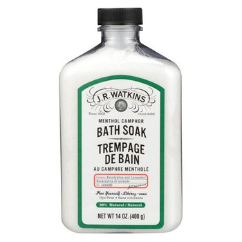 J.R.Watkins - Menthol Camphor Bath Soak | 400g