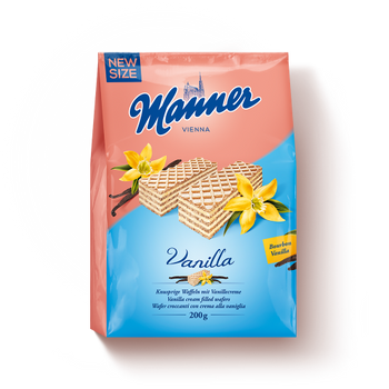 Manner - Vanilla - Vanilla Cream Filled Wafers | 200g