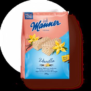 Manner - Vanilla - Vanilla Cream Filled Wafers | 200g