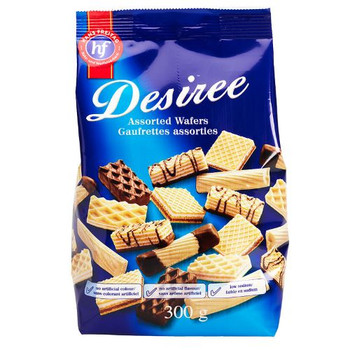 Desiree - Assorted Wafers  | 300g