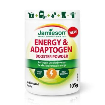 Jamieson Energy & Adaptogen Booster Powder - Unflavoured | 105g