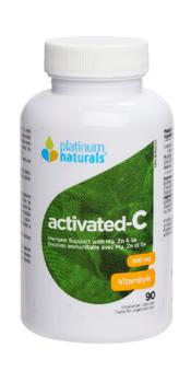 Platinum Naturals Activated - C - 600mg - Immune Support | 90 Capsules