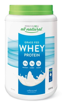 Precision All Natural Grass Fed Whey Protein - Unflavoured   850 g