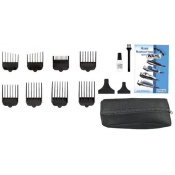 Wahl HomeCut Combo: Haircutting & Touch-Up Kit   15 Pieces