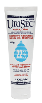 UriSec Hand & Body Treatment Cream for Dry Ski Conditions - 22% Urea | 225g