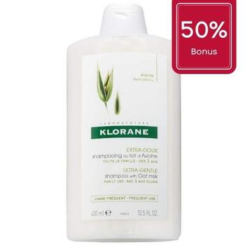 Klorane Oat Milk Shampoo, Ultra-Gentle | 400ml