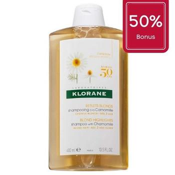 Klorane Chamomile Shampoo -  Blond Highlights | 400ml