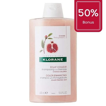 Klorane Shampoo with Pomegranate Extract | 400mL