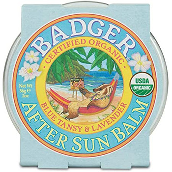 Badger Certified Organic  After Sun Balm - Blue Tansy & Lavender | 56g