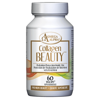 Omega Alpha Collagen Beauty - Hydration Protection Inside Out | 60 VegCaps