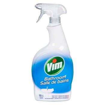 Vim Bathroom Soap Sum, Lime Scale, & Bathroom Grime Cleaner | 950 ml